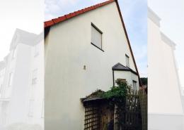 Fassadenreinigung Einfamilienhaus Beispiel 1 Nachher