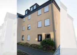 Fassadenreiningung Mehrfamilienhaus Beispiel Nachher