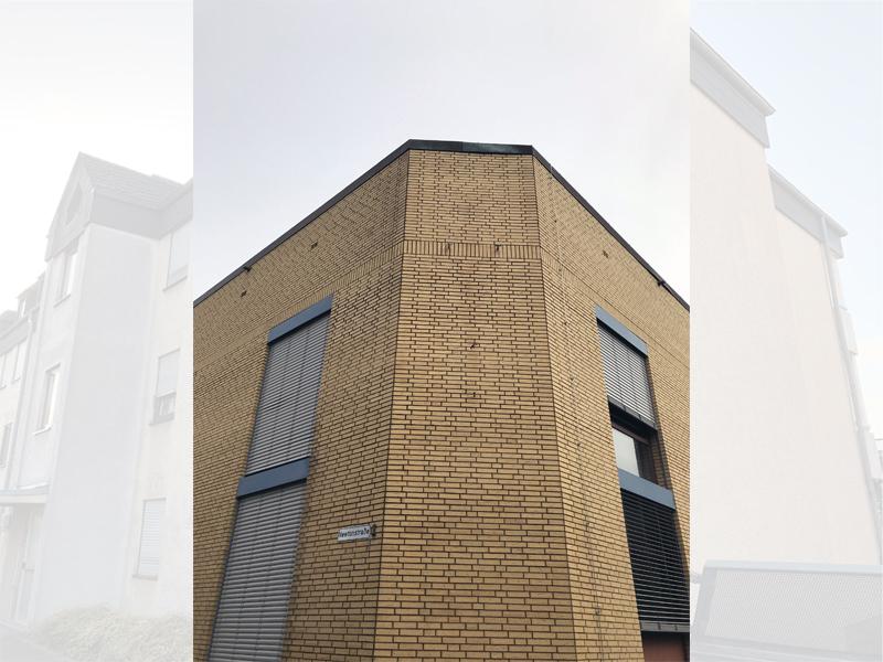 Fassadenreinigung Klinkerfassade Beispiel 2 Nachher