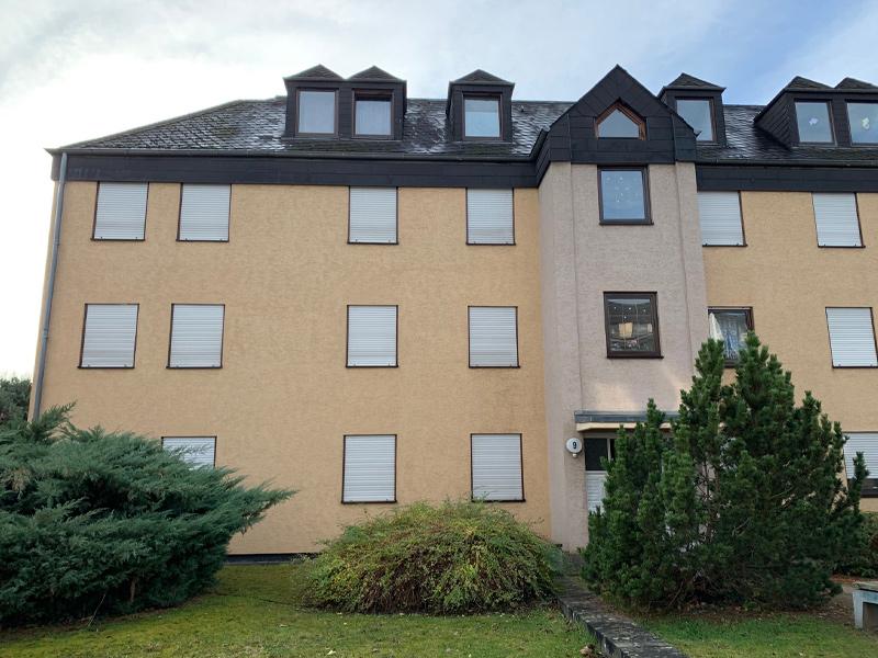 Fassadenreiningung Mehrfamilienhaus Beispiel 2 Nachher