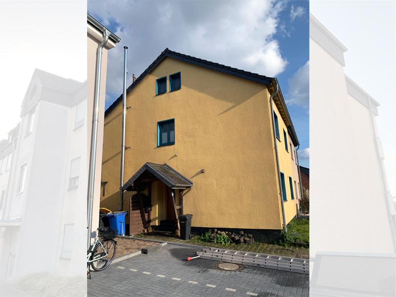 Fassadenreinigung Einfamilienhaus Beispiel 3 Nachher