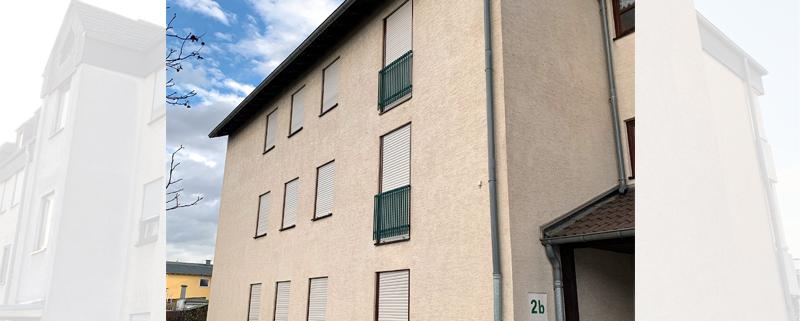Fassadenreiningung Mehrfamilienhaus Beispiel 3 Nachher