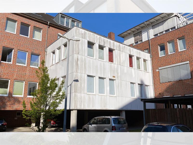 Fassadenreinigung vorgehängte hinterlüftete Fassade vorher